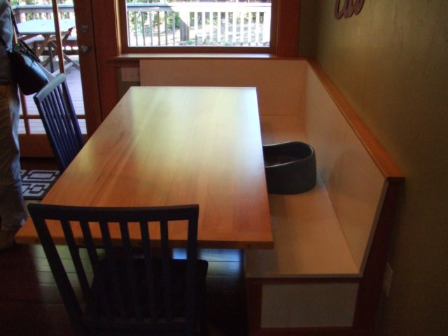 Kitchen Table And Bench Seats